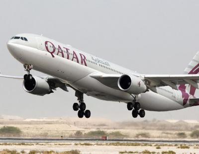 Qatar Airways plane makes emergency landing due to fire