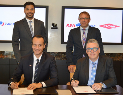 RSA-TALKE and Dow sign supply chain contract