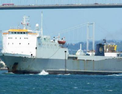 Dubai-bound ro-ro vessel capsizes off Egypt