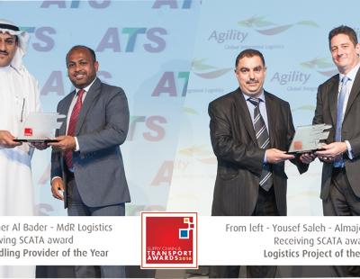 Almajdouie Logistics dominates SCATA Awards in Dubai