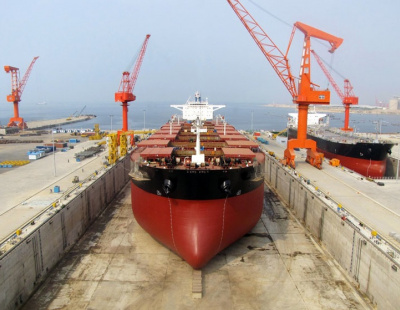 Newbuild ship orders drop to record low in Q2