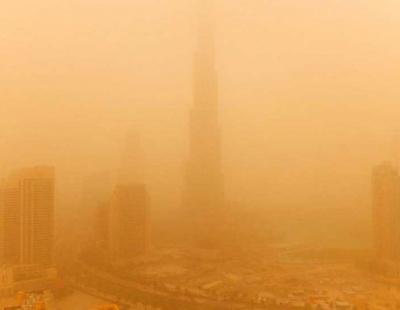 Sandstorm causes 135 traffic accidents in Dubai