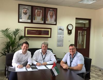 Saqr Port signs Deal to increase capacity