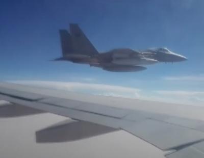 VIDEO: Saudi fighter jets intercept Iranian cargo plane