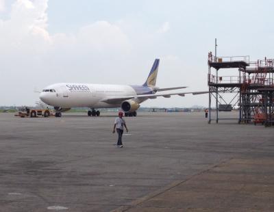 Dubai bound Airbus evacuated due to bomb threat