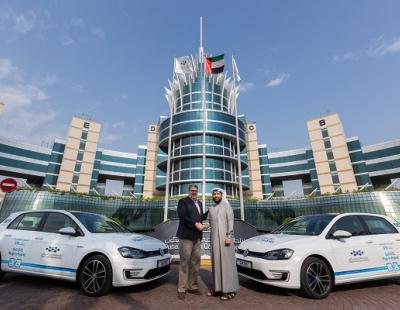 Dubai Silicon Oasis receives hybrid Volkswagens