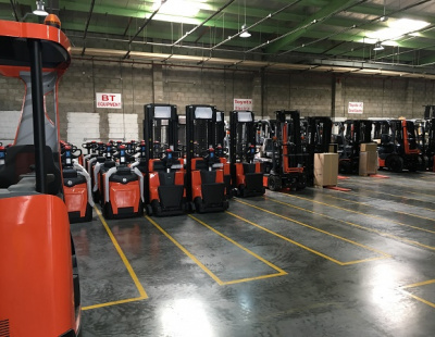 Toyota launches first material handling facility in UAE