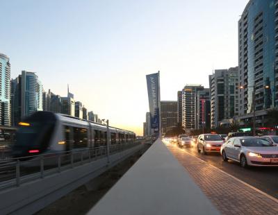 1,400 traffic violations in first 90 days of Dubai Tram