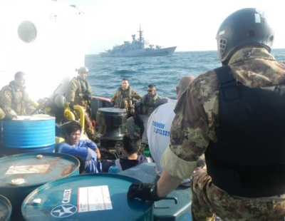 PICTURES: UAE vessel rescued by EU naval force