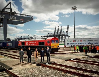 UKs 1st export train to China departs DP World terminal
