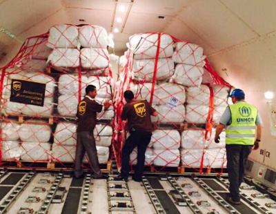 UPS facilitates UN aid to help refugees in Europe