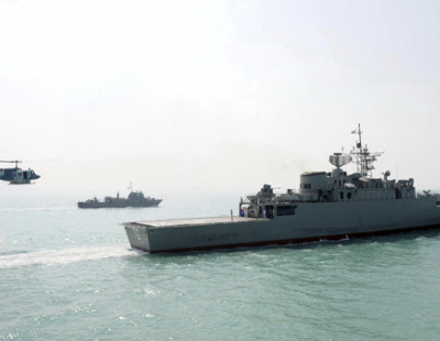 Iranian destroyer saves oil tanker from attack
