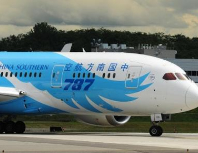 PHOTOS: China Southern Airlines unveils its 787 livery