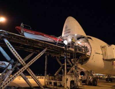 IN PICS: Emirates SkyCargo takes yacht to skies