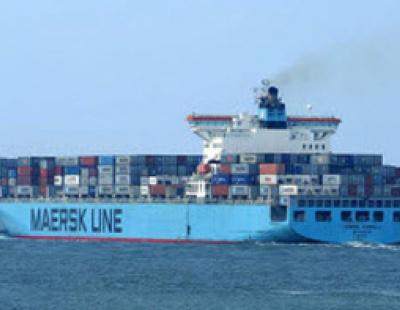 Maersk Kampala making progress against onboard fire
