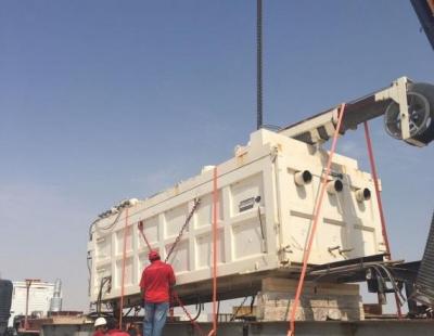 BIG PIC: WSS UAE handles shipment of Rail Wagon Vacuum System