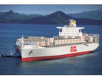 OOCL shipping line extends Med service to include Middle East loop