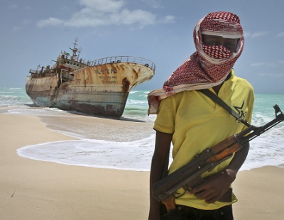 Oil tanker attacked by pirates, risking eco disaster