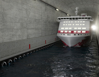 Norway to build world-first $315 million ship tunnel