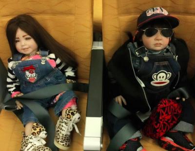 Airline tells staff to treat dolls like real passengers