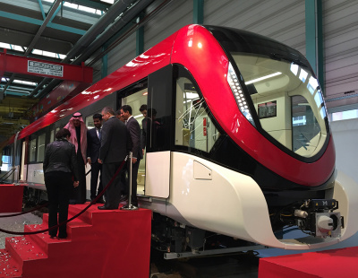 BIG PICTURE: Inspiro train for Riyadh Metro unveiled