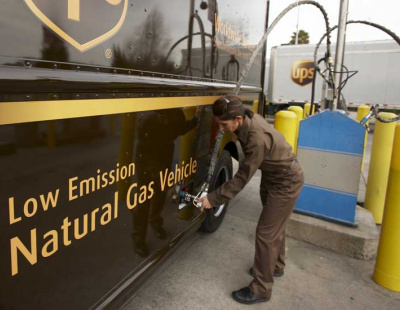 UPS plans more hybrid vehicles, use of renewable energy in ambitious sustainability goals