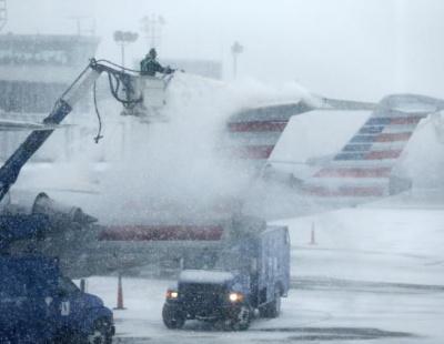 Fed Ex, DHL respond as winter storm cripples eastern US
