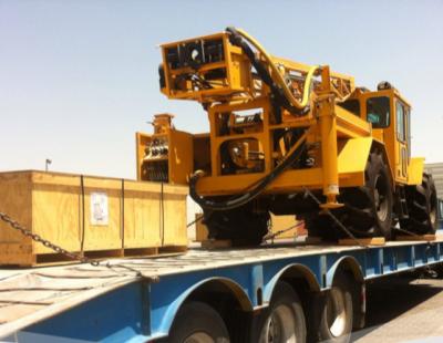 Al Nahrain deliver cargo for oil exploration via Umm Qasr Port