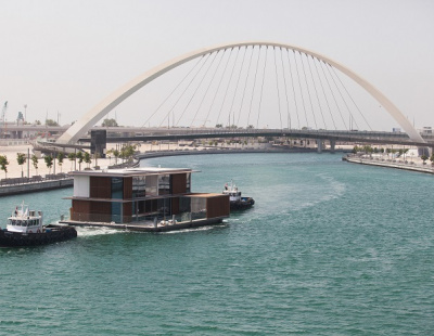 CASE STUDY: Dubai Properties' floating villas in Dubai Canal