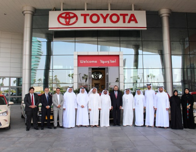 Dubai Taxi takes delivery of 554 Toyota Camry Electric Hybrid cars