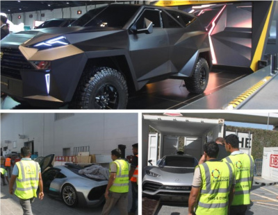 BIG PIC: Al Naboodah drives Dubai Motor Show