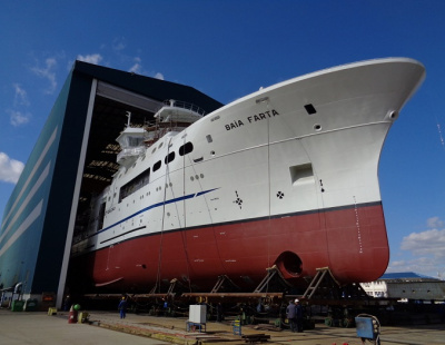 Damen launches advanced research ship in Africa