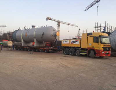 BIG PIC: Masstrans moves heavy project cargo from Hamriyah