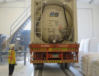 RB Logistics appoints GAC for Abu Dhabi talc shipping
