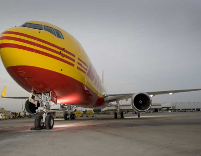 DHL to handle 1,000 tons of Komatsu machinery and spare parts