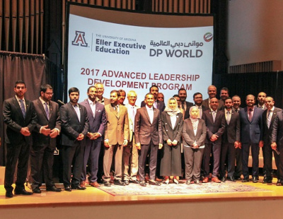 DP World 'Future Maritime Leaders' complete training course