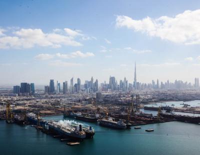 AIDAstella emerges from Dubai Drydocks with new ice-cream bar