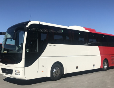 Oman public transport orders 33 emergency-braking MAN Lion coaches