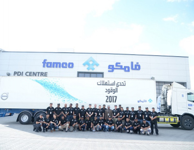 FAMCO rewards UAE truck drivers for fuel efficient driving