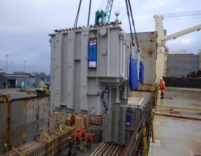 BIG PIC: Polytra ships massive transformers to Oman