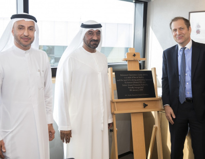 Sheikh Ahmed inaugurates Richemont's new luxury goods DC in DAFZA
