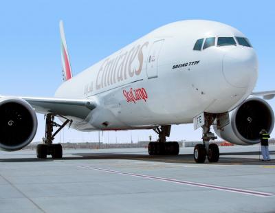 Emirates Pharma, Emirates Fresh and Emirates Wheel drive air cargo growth