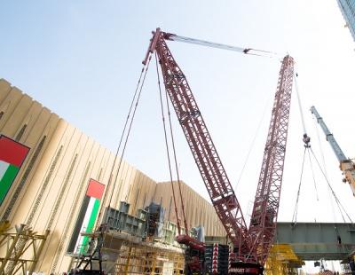 Mammoet key link in The Dubai Mall extension logistics