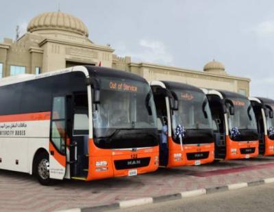 Sharjah public transport gets ten new 'smart buses'