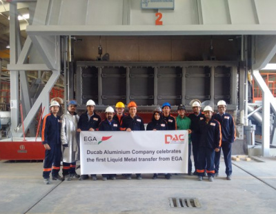 Ducab Aluminium's new KIZAD facility opened by Crown Prince