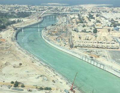 Dubai considers waste eating 'shark' for Dubai Canal