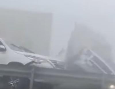 VIDEO: Terrifying moment truck ploughs through cars in Abu Dhabi