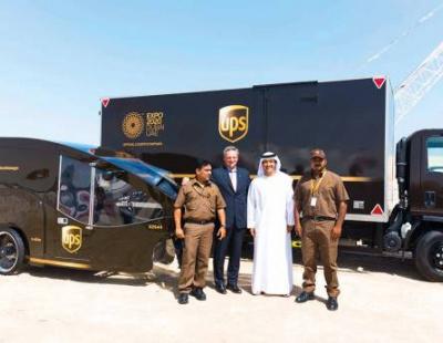 UPS ready to make 'big bets' in Saudi Arabia