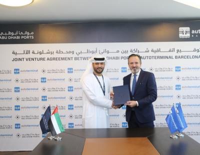 Autoterminal Khalifa Port to manage new roro terminal in Abu Dhabi