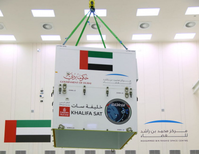 PICS: Emirates SkyCargo delivers UAE's first satellite for launch